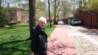 Joseph Margolis, Philadelphia, April 2015